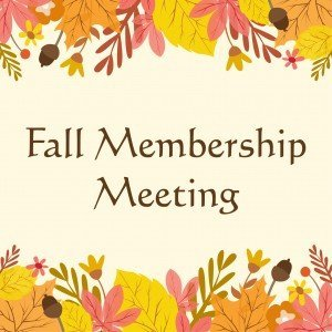 Fall Membership Meeting @ Riverdale-Yonkers Society for Ethical Culture | New York | United States