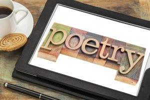 Poetry word typography | © Marek Uliasz | Dreamstime Stock Photos