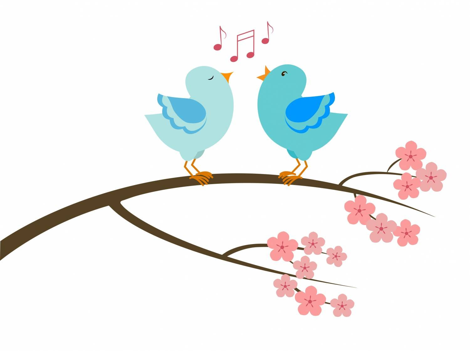 A couple of singing birds | © Ahnassi | Dreamstime Stock Photos | © Ahnassi | Dreamstime Stock Photos