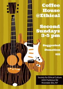 Coffee House @Ethical @ Riverdale-Yonkers Society for Ethical Culture | New York | United States