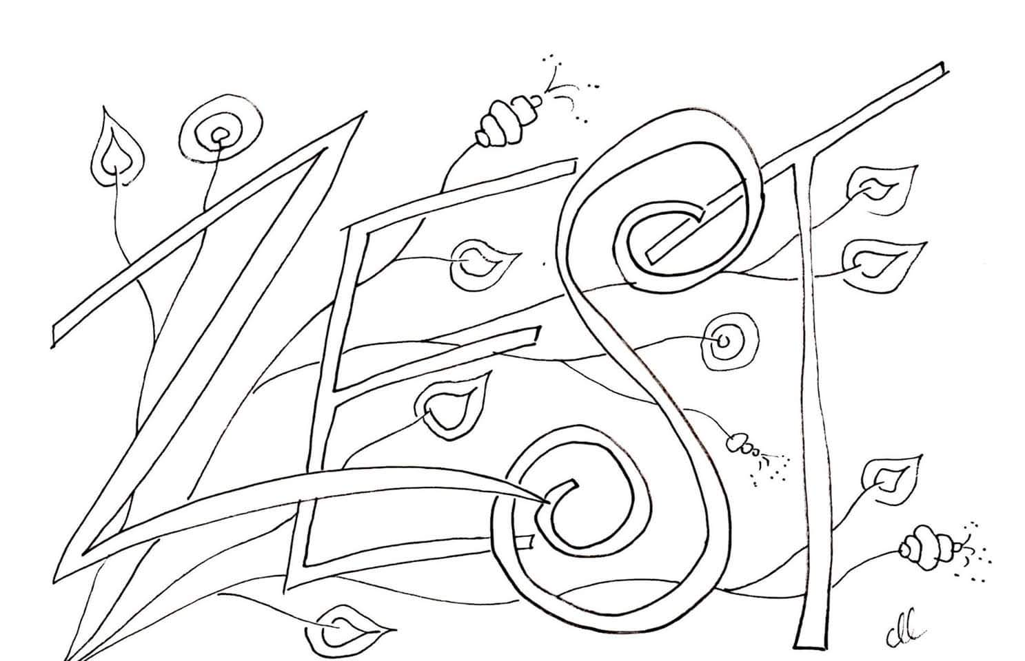 Meditative Coloring Pages - RYSEC